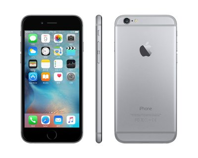 IPHONE 6 64GB ZWART