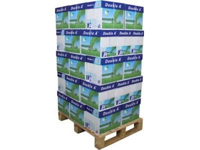 Double A A4 80grams cleverbox (40 dozen op pallet)